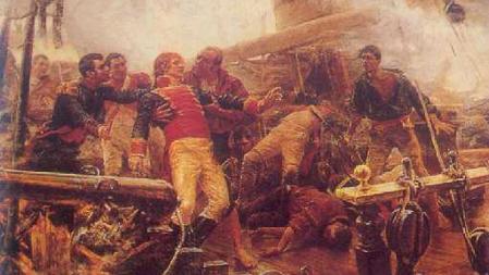 Churruca muere en Trafalgar