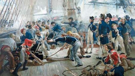 Tripulación, en Trafalgar