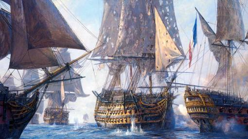 Resultado de imagen de navio español santisima trinidad