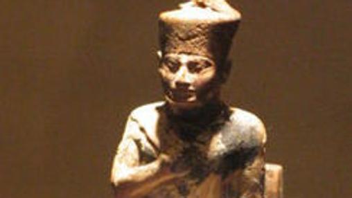 Estatuilla de Jufu. Museo Egipcio de El Cairo.