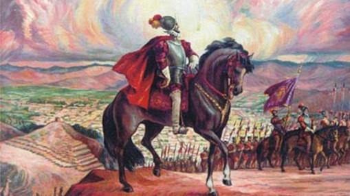 Pizarro parte hacia Cajamarca