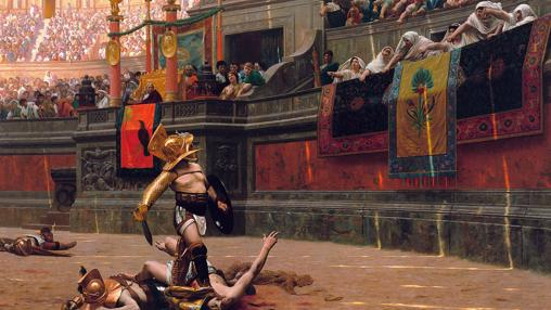 El Emperador Cómodo era conocido por sus ostentosos espectáculos y su constante enfrentamiento con el Senado