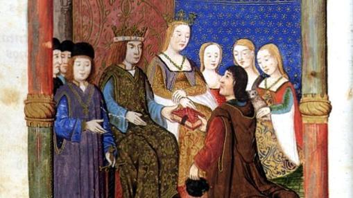 Felipe y Juana, cuadro histórico