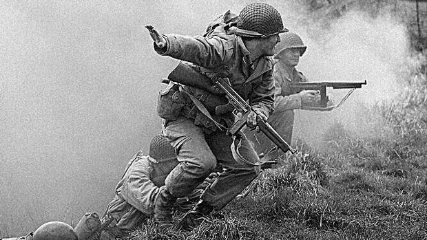 Recreación histórica de los Rangers