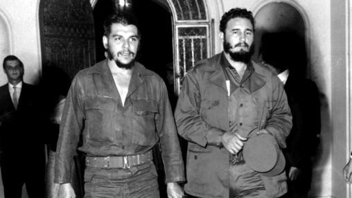 Guevara y el Che, tras acceder al poder
