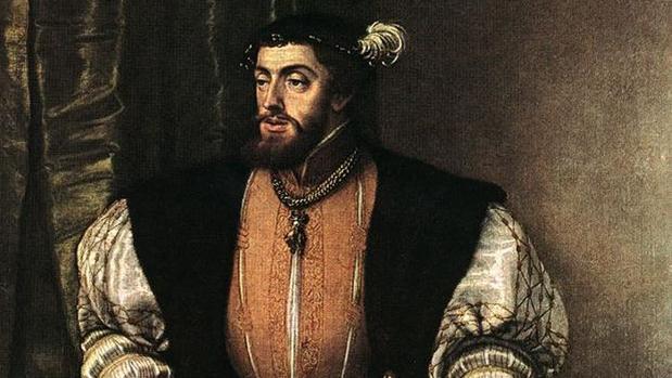 Retrato de Carlos I de España, realizado por Tiziano