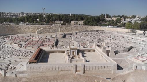 Maqueta del Templo de Herodes