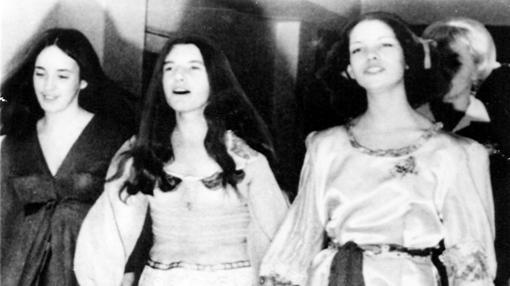 Tres miembros de la Familia (Susan Atkins, Patricia Krenwinkel y Leslie van Houghton)