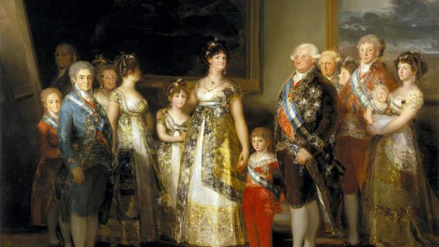 La familia de Carlos IV, de Francisco de Goya