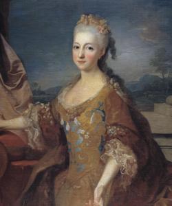 Retrato de Luisa Isabel de Orleans