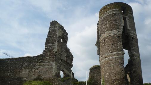 Vista actual del castillo de Champtocé