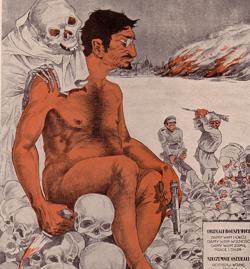 Propaganda contra Trotsky durante la Guerra Polaco Soviética
