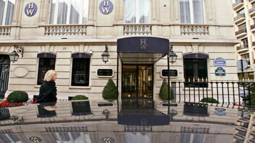Joyería Harry Winston, en París