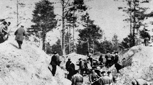 Las fosas de Katyn