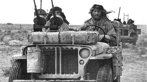 Comandos del SAS en 1942