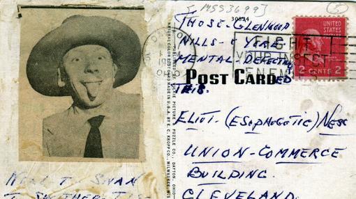 Carta burlona de Sweeney enviada a Ness