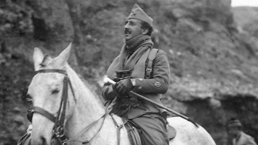 Franco, en 1923 en Marruecos