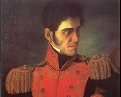 Retrato de Antonio López de Santa Anna