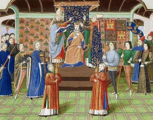 Coronación de Enrique II de Castilla