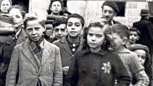 Niños judíos durante la ocupación de París