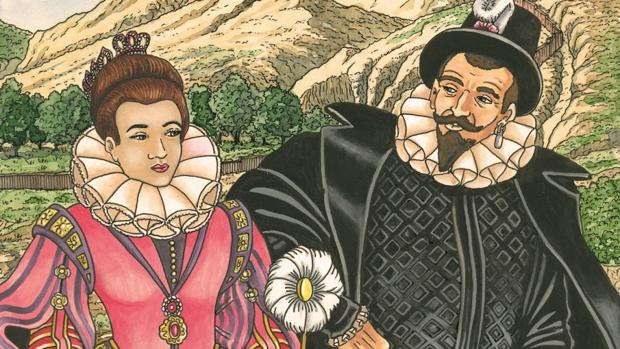 Cartel de las Segundas Jornadas Madrileñas de Novela Histórica