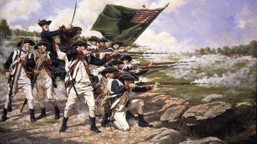 Batalla de la Guerra de la Independencia de los EEUU en 1776