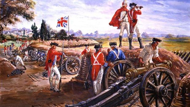 Los ingleses cayeron ante el empuje de Gálvez, que ayudó desde sus inicios a los EEUU