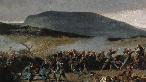 Batalla de Wad-Ras, cuadro de Mariano Fortuny.