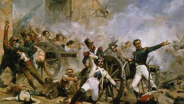 La defensa del parque de Monteleón durante el Levantamiento del 2 de mayo en Madrid