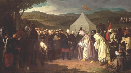 La paz de Wad Ras, de Joaquín Domínguez Bécquer