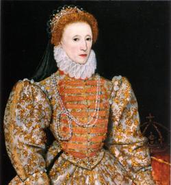 Retrato de Isabel I, Reina de Inglaterra