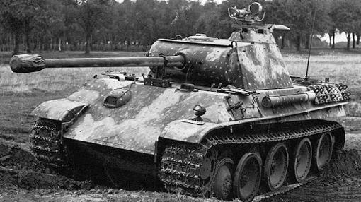 Panther V, el terror de los Sherman