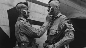 Las prácticas de los paracaidistas en Normandía