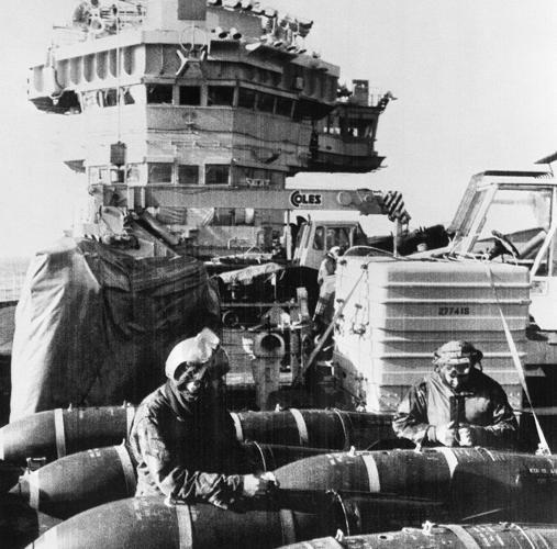 HMS Hermes, durante la guerra de las Malvinas