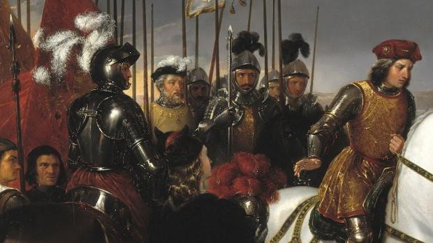 Gonzalo Pizarro fue uno de los capitanes que asistieron al Gran Capitán en la batalla de Ceriñola