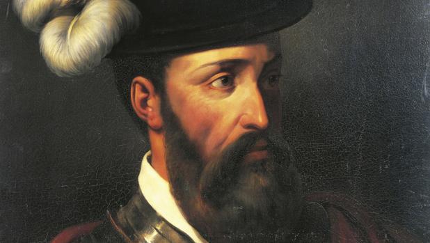 Retrato clásico de Francisco Pizarro