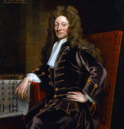 Retrato de Christopher Wren