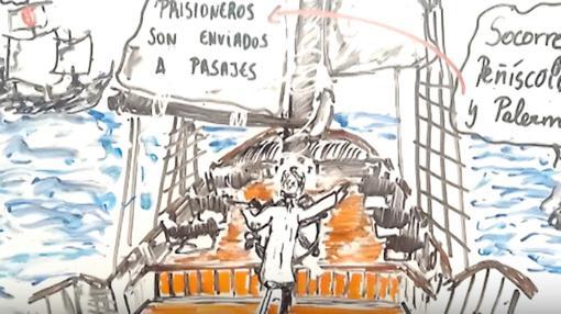 Captura de uno de los vídeo de YouTube de «Memorias de Pez»