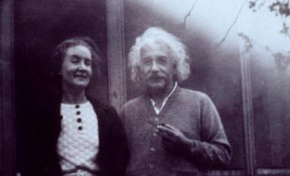 Einstein y su amante, Margarita Komenkova