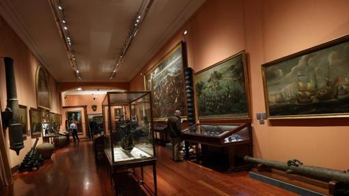 Interior del Museo Naval de Madrid