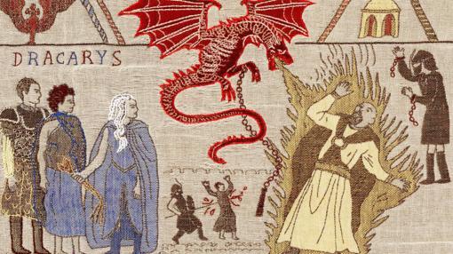 Tapiz de Juego de Tronos presentado en Irlanda