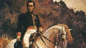 Bolívar a caballo