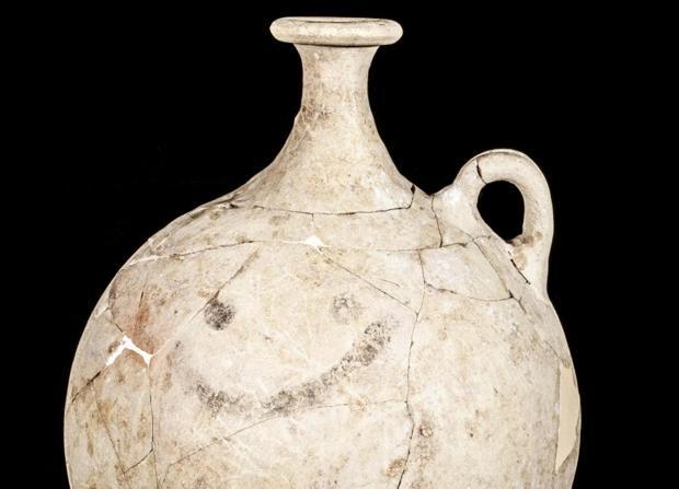 La «cara sonriente» más antigua de la Historia