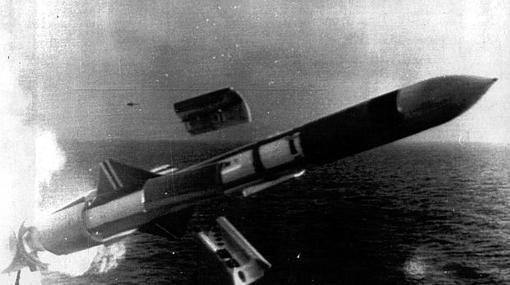 Misil usado durante la Guerra Fría