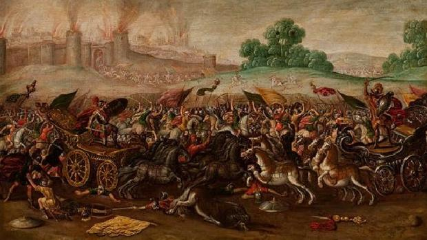 «Jerusalén, incendiada por Nabucodonosor»