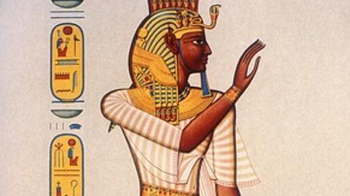 Ramsés III, imagen de su tumba