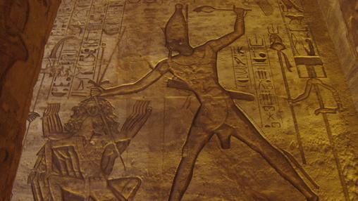 El temerario Ramsés castiga al derrotado Hatti