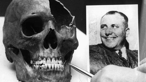 Supuesta calavera de Martín Bormann
