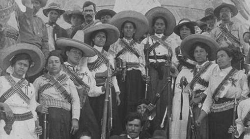 Soldaderas durante la Revolución Mexicana