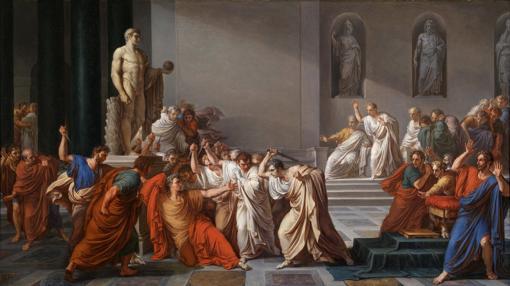 «La muerte de César»